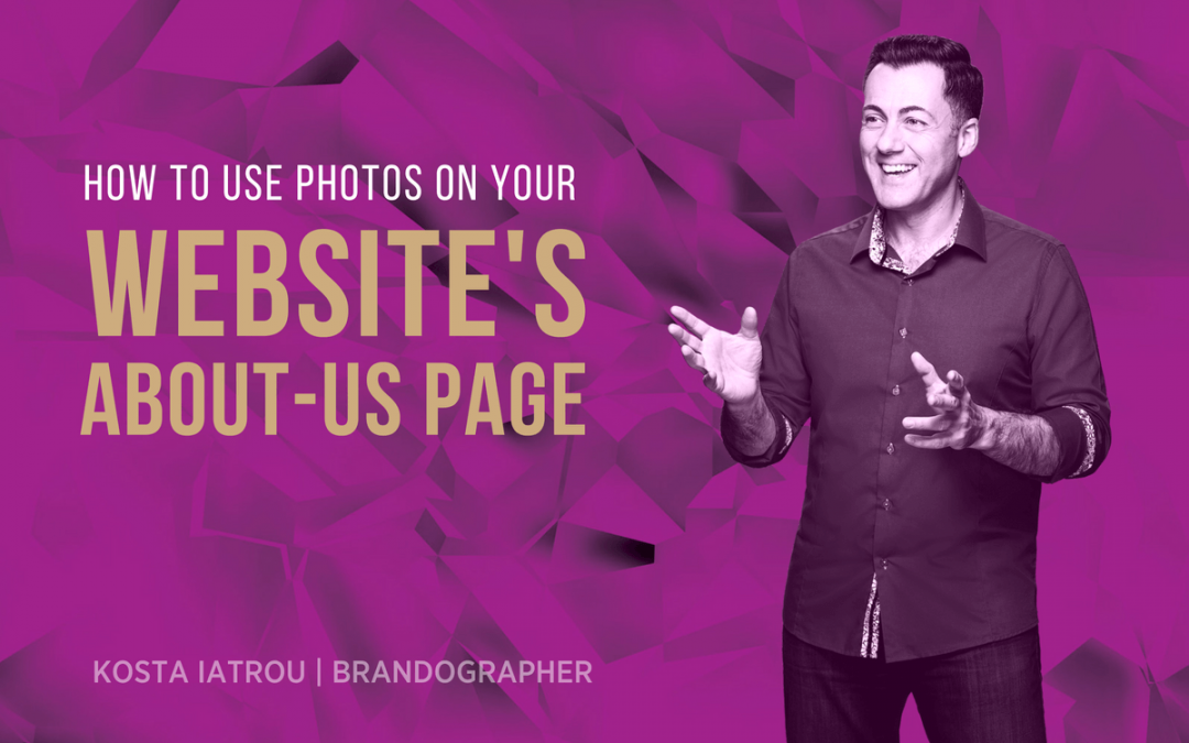 How to humanise your ABOUT-US page with photos