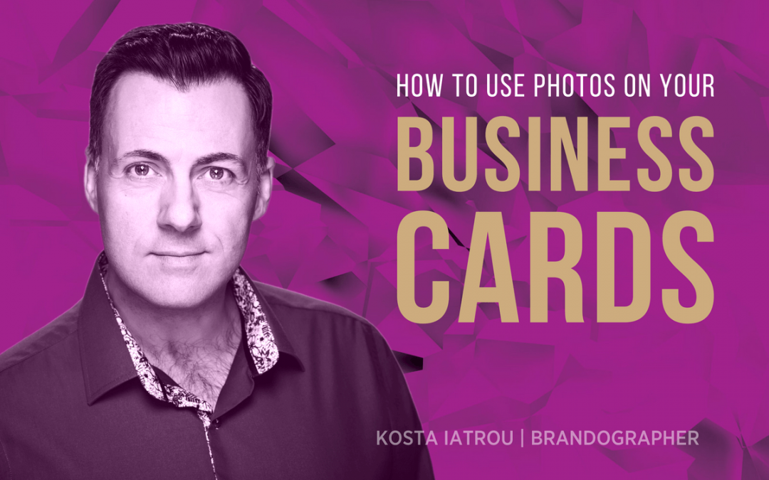 How to best use your photographs on your Business Cards