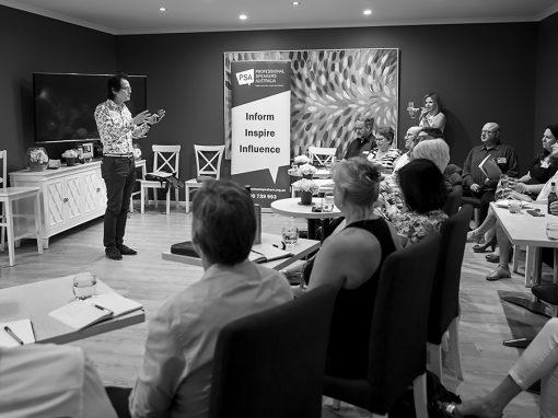 Professional Speakers Australia (VIC) – JAN 2018