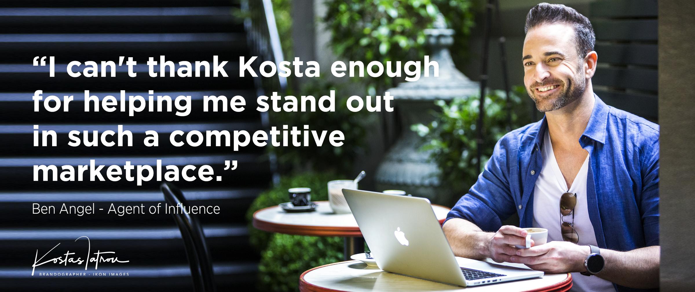 IKON IMAGES Kostas Iatrou Brandographer - Branding Portraits and Branding Strategy