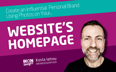 How to use photos on your website's Homepage